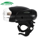 CARKING 4-LED 3-Mode Neutral White Bicycle Waterproof Headlight -Black