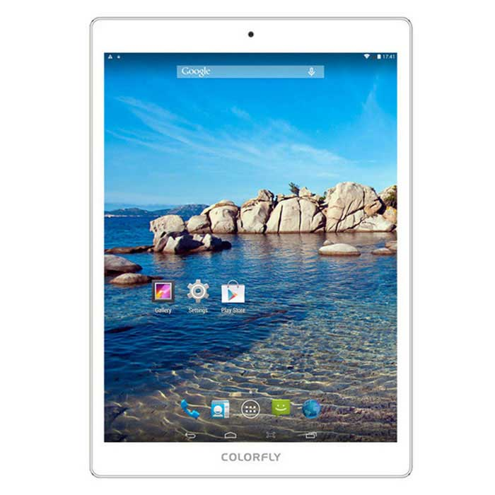 "COLORFLY G977 3G 9.7"" Android 4.4 Tablet w/ 2GB RAM, 16GB ROM - White"