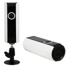 185 Degree 1.0MP Wireless Network Camera with Home Security (EU Plug)