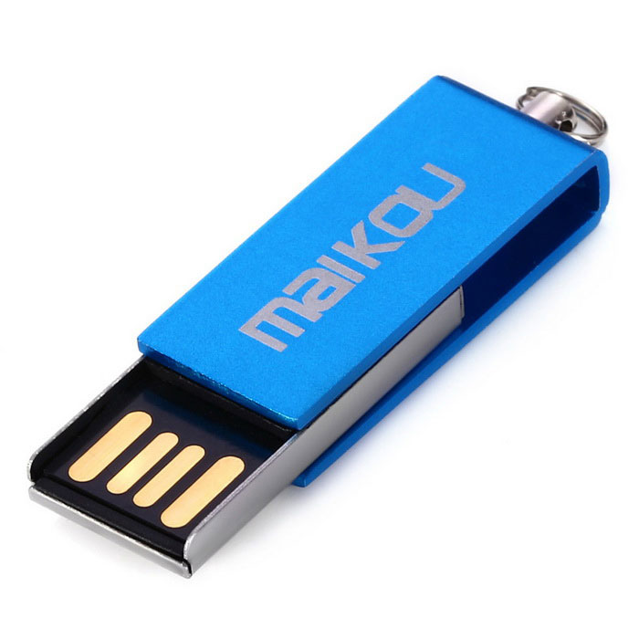 Maikou MK0008 Creative 64GB USB 2.0 Flash Drive U Disk - Blue