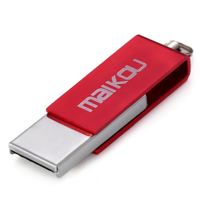 Maikou MK0008 creativa 64GB USB 2.0 Flash Drive U disco - Rojo