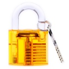 Practice Padlock - Transparent Orange