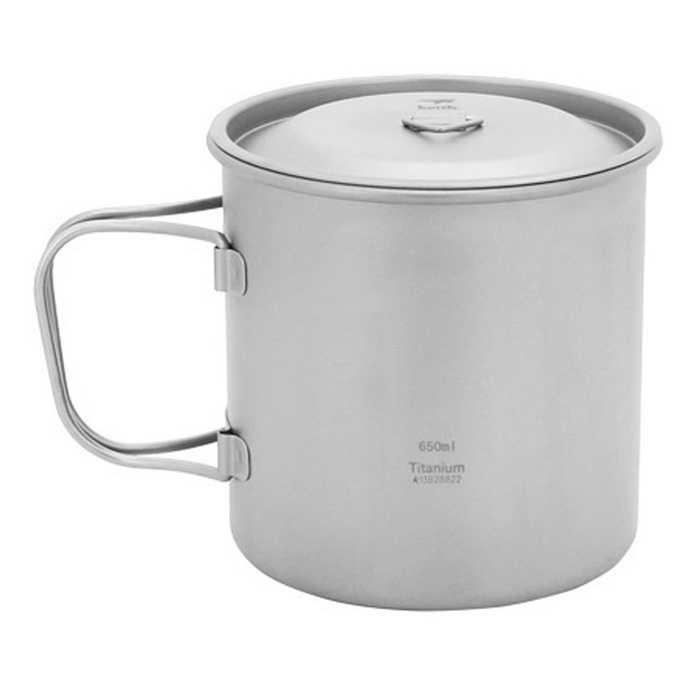 Ti3208 Titanium Water Cup Mug Travel Outdoor Camping Picnic CookwareCooking Stove And Hardware<br>Form ColorSilver GreyModelTI3208Quantity1 DX.PCM.Model.AttributeModel.UnitMaterialPure titaniumBest UseFamily &amp; car camping,Camping,TravelTypeCups &amp; MugsPacking List1 * 650ML single layer cup<br>