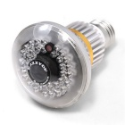 Wireless Bulb DVR Hidden Camera with Invisible IR Light