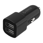 ORICO UCL-2U 2 Port 5V 17W Mini Travel Smart USB Charger for Car