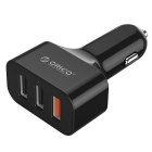 ORICO UCH-Q3 QC3.0 3-Ports USB Quick Car Charger for Mobile Phone/IPad