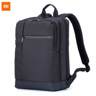 Original Xiaomi 17L Classic Business Style Men Laptop Backpack - Black