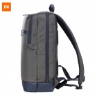 Original Xiaomi 17L Business Style Men Laptop Backpack - Grey Green