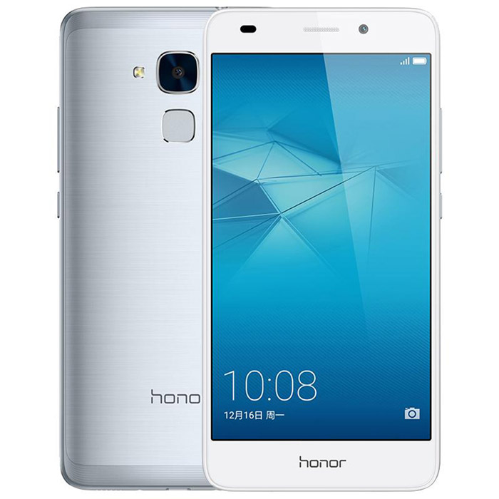 "Huawei Honor 5C 5.2"" Octa-Core Android 4G+ Phone w/ 2GB +16GB - Silver"