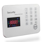 Touch Keypad GSM Alarm System APP Operation Home Security Alarm System