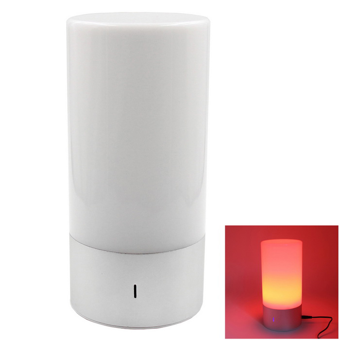 lampadina musica colore -up intelligente a LED altoparlante bluetooth lampada / RGB - argento