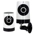 185' 1.0MP Network Panoramic Wi-Fi Camera w/ Home Security (UK Plug)