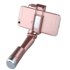 Benks Wireless селфи Стик ж / Bluetooth Fill Light - розовое золото