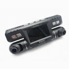 Car DVR 1080P Full HD 170 Degree Wide Angle Recorder - Black + Silver