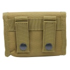 Field Hunting Rifle Bullets 10 Package Storage Bag - Tan