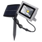YouOKLight 10W Cool White Solar Waterproof Outdoor LED Flood Light