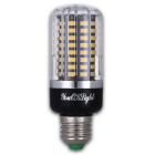 YouOKLight E27 9W Blanco caliente 100-SMD-5736 LED del bulbo del maíz (4 PCS)