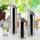 Multi-functional Stainless Steel Water Pitcher - Silver (1L)
