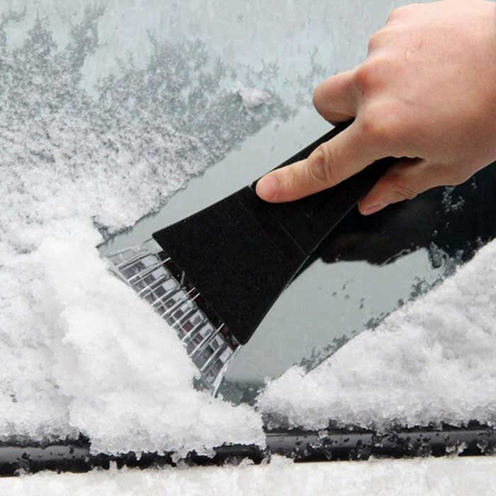 ZIQIAO Car Snow Shovel Snowboard Ice Scraper Tools - BlackCar Cleaning Tools<br>Form ColorBlack + Translucent + Multi-ColoredModelN/AQuantity1 DX.PCM.Model.AttributeModel.UnitMaterialABS hard plasticShade Of ColorBlackTypeCleanersPacking List1 * Car ice shovel<br>