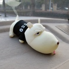ZIQIAO Cartoon Dog Car Deodorante Air Purificante Carbonio Sacchetto - Nero
