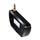 Mini Car FM Transmitter for All Smartphones and Players - Black