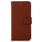 Lichee Pattern Protective Full Body Case for IPHONE 7 plus - Brown
