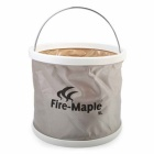 Fire-Maple Water Bucket - Light Yellow + Silver