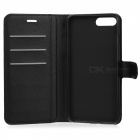 Lichee Pattern Protective Full Body Case for IPHONE 7 plus - Black