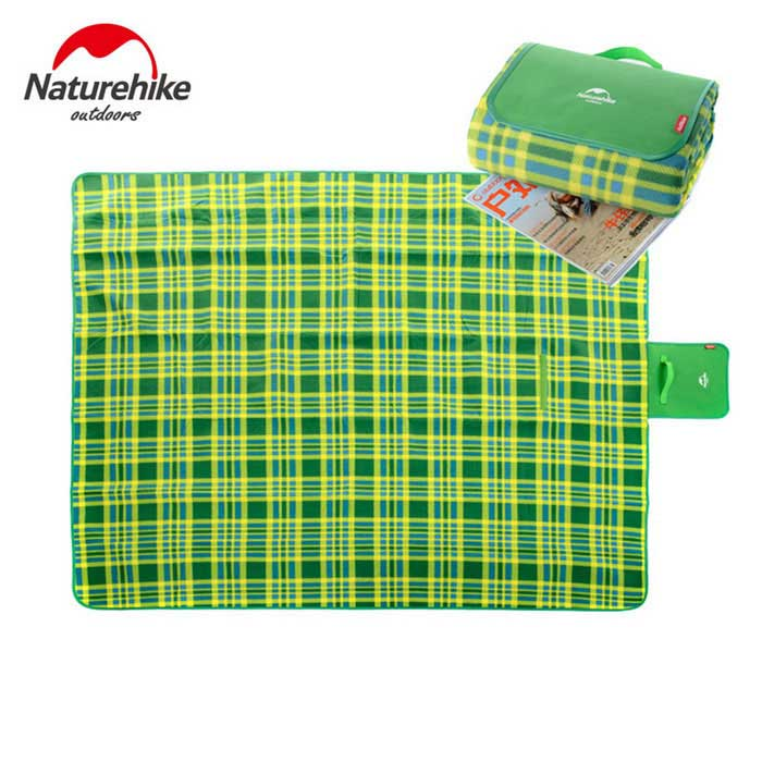 naturehike-nh vouwen 2-Person camping shelter / mat - green