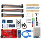 High Quality IO Expansion Shield w/ LED / Module Learning Kit for Arduino - Red + Blue