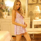 FanYang Women's Fashionable Sexy Sleep Dress Lingerie Suit