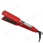 LOOF LCD Touch Screen MCH Titanium Ceramic Flat Iron Hair Straightener