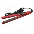 LOOF LCD Vibration  MCH Titanium Ceramic Flat Iron Hair Straightener