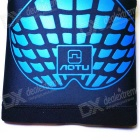 AOTU Men / Women Outdoor Sports Kneepad quente respirável - preto + azul