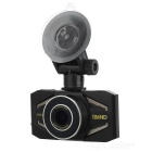 "K6000 1/2.7"" CMOS 5.0MP 170' Wide Angle Car DVR - Black"