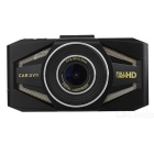 "K6000 1 / 2.7""CMOS 5.0MP 170"" Wide Angle Car DVR - černý"