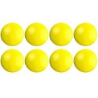 FUNI CT-17 Office Whiteboard Round Magnets - Yellow (8PCS)
