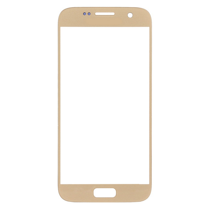 Replacement Glass Touch Screen Panel for Samsung S7 G930 - Gold