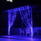 12W 200-LED Blue Light Christmas Twinkle String Lights (20m)