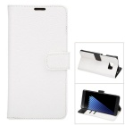 PU Full Body Case w/ Stand for for Samsung Galaxy note 7 - White
