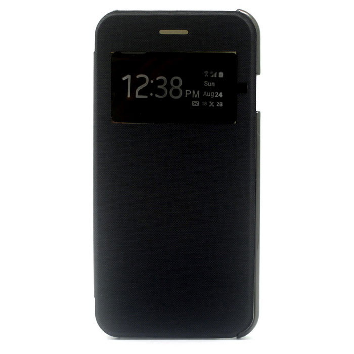 Protective Leather + ABS Case for IPHONE 7 - Black