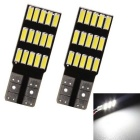 MZ T10 15-4014-SMD LED Reading Lamp Auto Canbus License Plate Lights