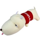 Cute Cartoon Dog Style Bamboo Charcoal Bag Car Deodorant Air Purifying Useful Decor - Red + Beige