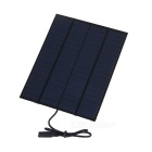 Sunwalk 5.5W 18V monocristallin Silicon Solar Charger + Alligator Clips