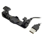 GT-210 USB Data Charge Cradle Dock Charger Clip Charging Cable - Black
