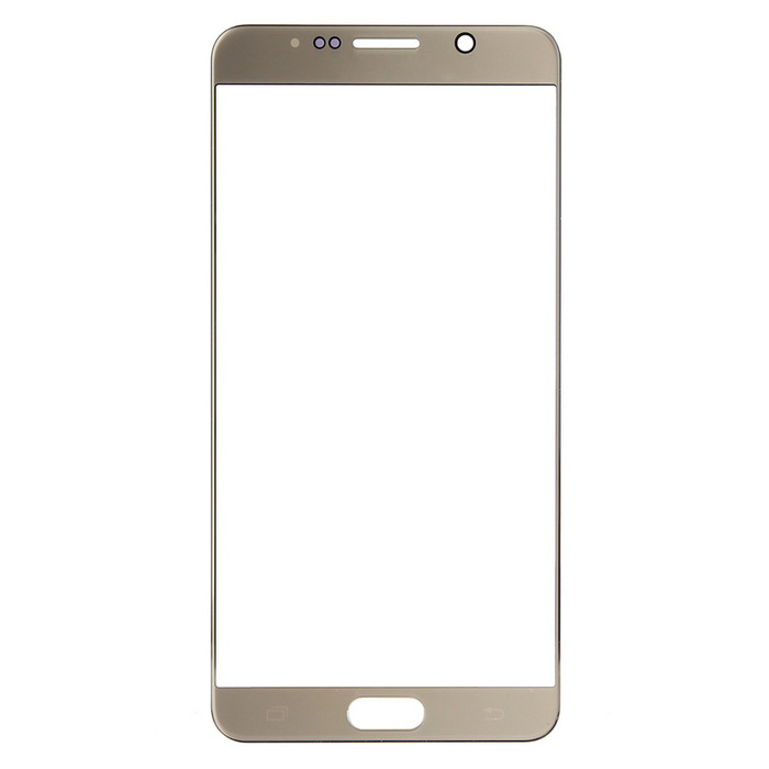 Replacement Glass Touch Screen Panel for Samsung Note5 - Gold