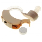 Behind Ear Sound Voice Amplifier Hearing Aid (1*LR44)