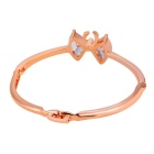 Cristal bowknot Cute Fashion Bracelet Xinguang Femme - Or rose