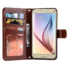Denim + PU Leather Case Cover for Samsung Galaxy Note 7 - Off-white