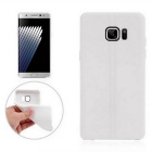 TPU Protective Back Case Cover for Samsung Galaxy Note 7 - White